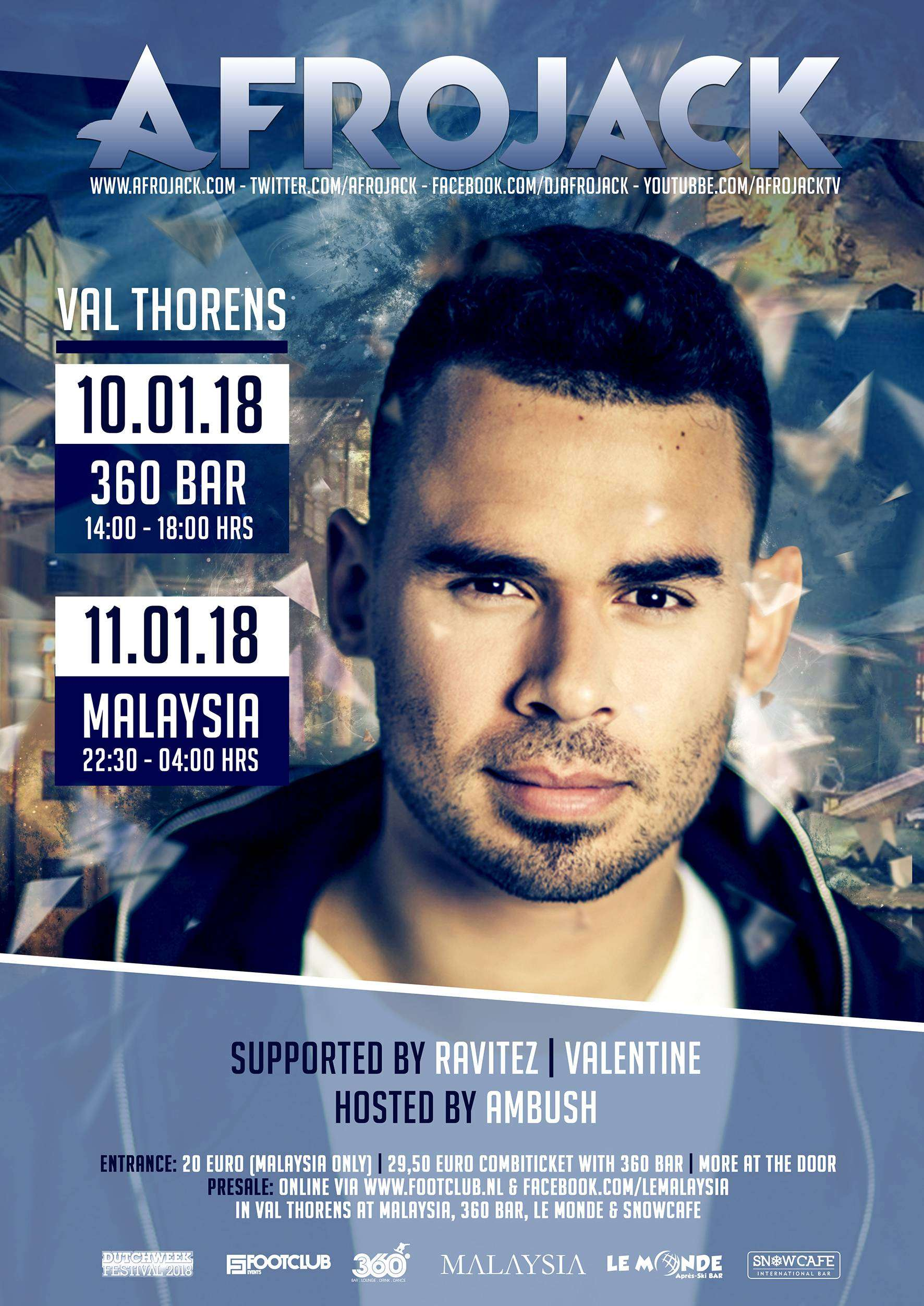 AFROJACK AT LE MALAYSIA [SOLD OUT]